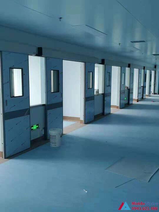 Bệnh Viện 108 - Lắp đặt hệ thống cửa tự động phòng mổ