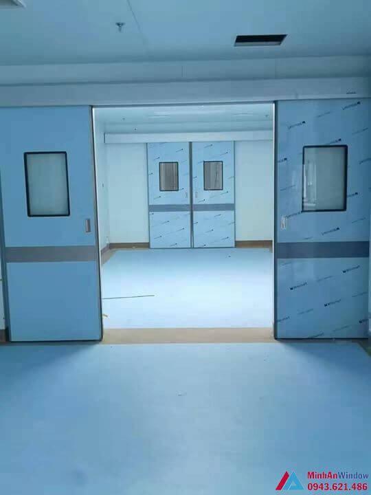 cửa tự động cho phòng mổ bệnh viện
