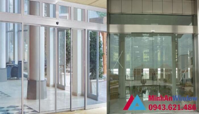 Mẫu cửa tự động Teraoka nhật bản 4 cánh - cửa tự động trung tâm thương mại
