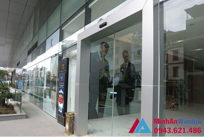 Cửa tự động Nabco Nhật