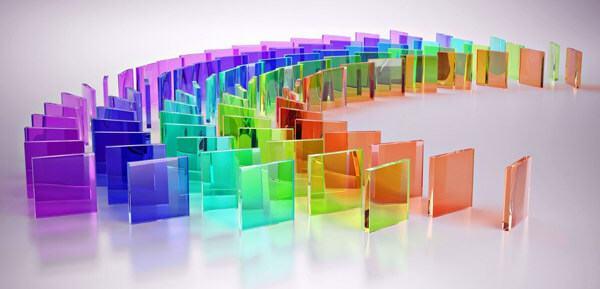 Các mẫu kính cường lực màu đặc sắc cao cấp