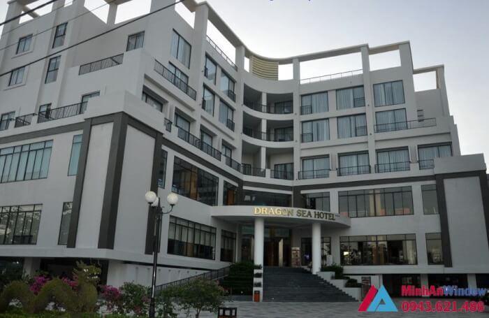Khách sạn Dragon Sầm Sơn- thi công tổng thể hạng mục nhôm kính PMA