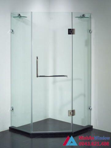 mẫu cabin phòng tắm 135 độ