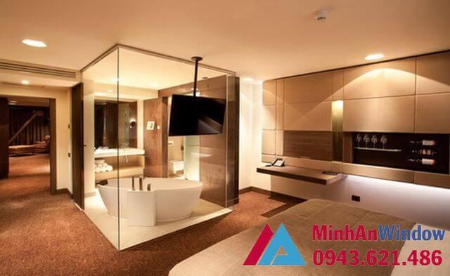 Cabin phòng tắm 180 độ 1