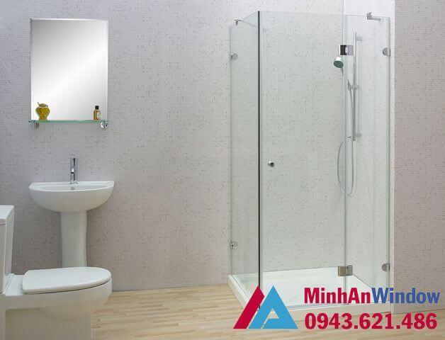 Phòng tắm kính 90 độ cao cấp chất lượng