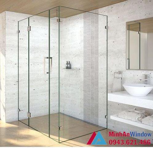 Một số mẫu cabin phòng tắm 90 độ tại Minh An Window