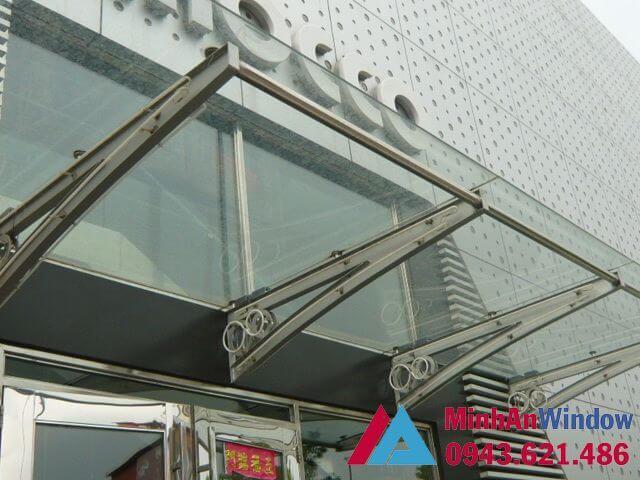 Mái kính khung sắt cho các nhà cao ốc