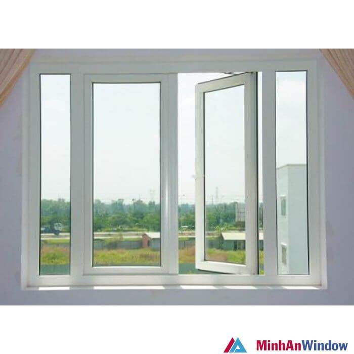 Mẫu cửa sổ nhôm kính 4 cánh 2