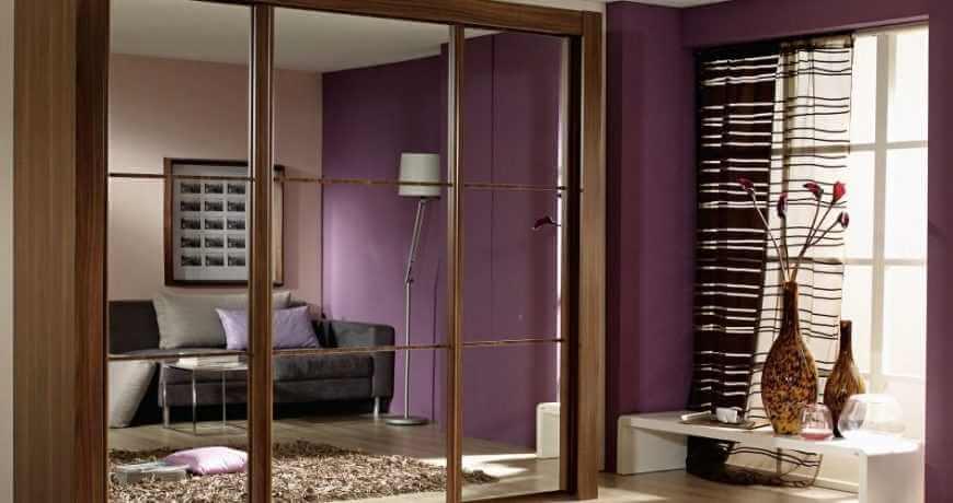 Mẫu cửa nhôm kính phòng ngủ<
