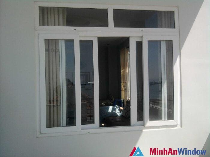 Cửa sổ nhôm kính 4 cánh việt pháp