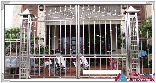 Cửa inox 2 cánh tại Bắc Ninh cao cấp phổ biến