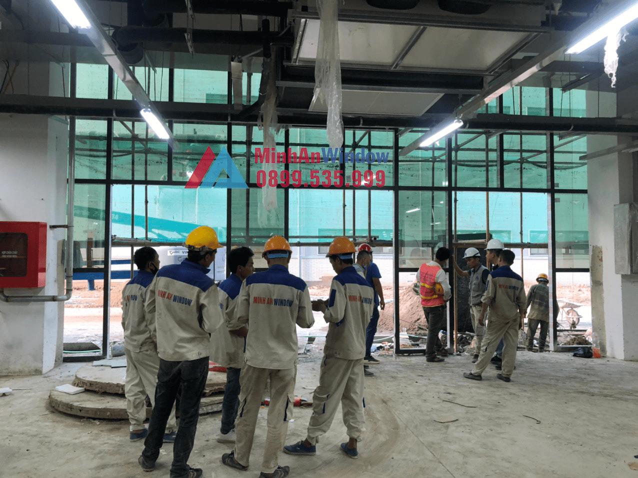 [2021]Thi Công & Lắp Đặt Cửa Nhôm Kính Tại Bắc Ninh 2