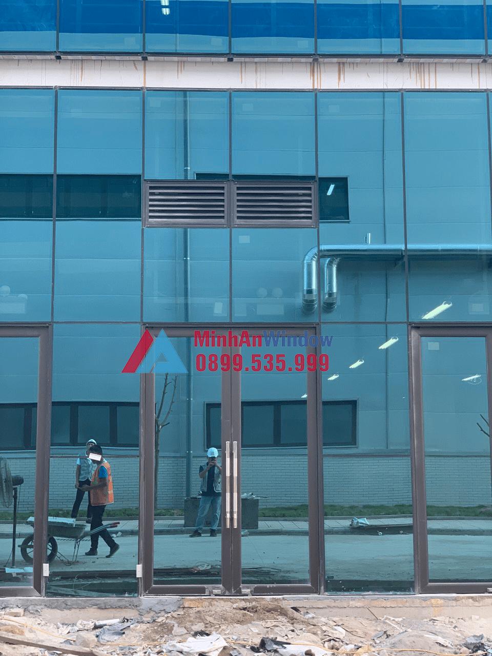 [2021]Thi Công & Lắp Đặt Cửa Nhôm Kính Tại Bắc Ninh 3