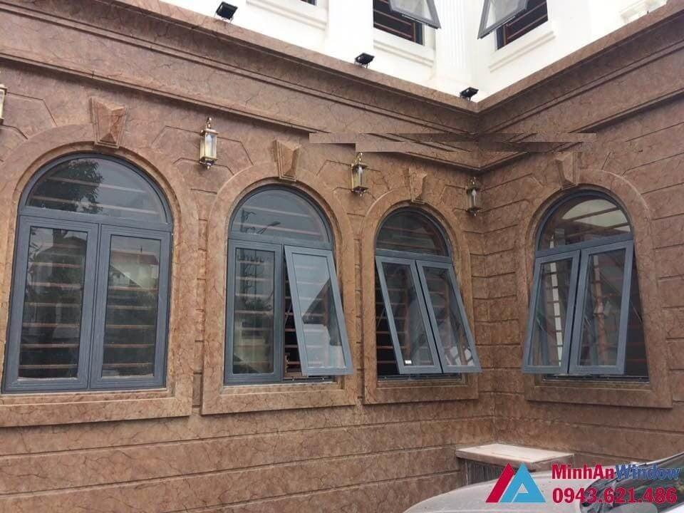 Dự án thi công cửa sổ nhôm xingfa chung cư hòa bình