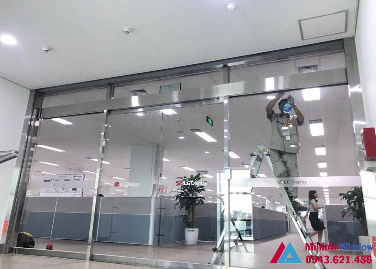 Thi công lắp đặt cửa tự động tại Quảng Ninh - Đơn vị thi công cửa ...