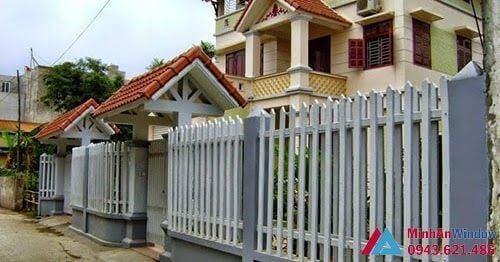 Hàng rào chắn sử dụng Inox cao cấp chất lượng nhất tại Bắc Ninh