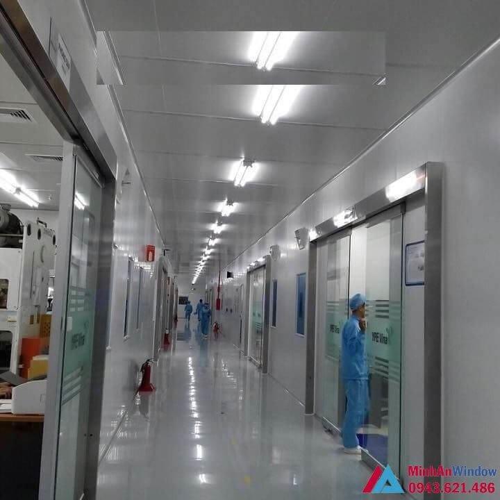 Hệ thống cửa tự động tại bệnh viện
