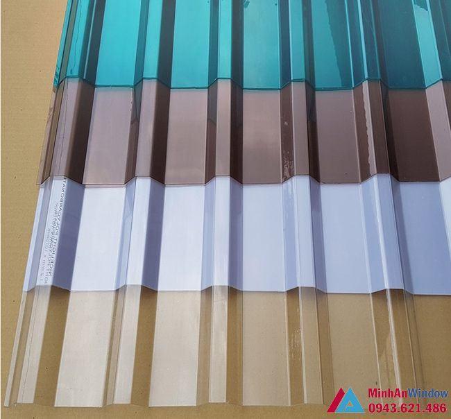 mẫu tấm lợp thông minh sóng