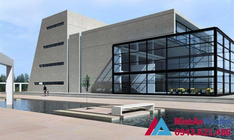 Cửa kính khung thép cao cấp chất lượng cho các công trình