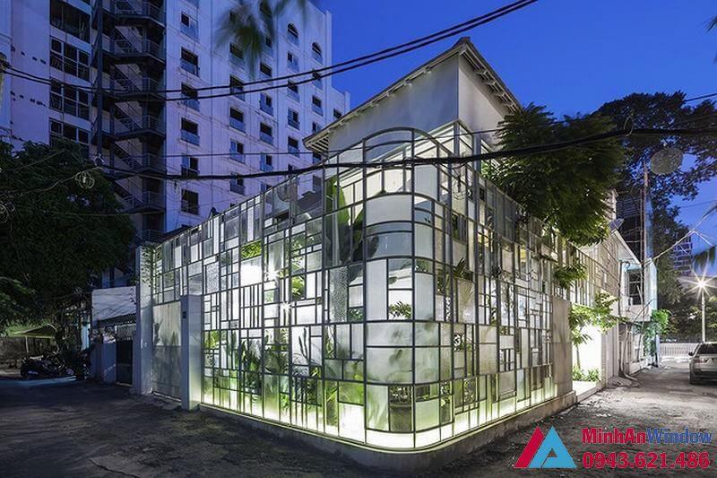 Nhà kính khung thép cao cấp chất lượng cho các biệt thự cao cấp
