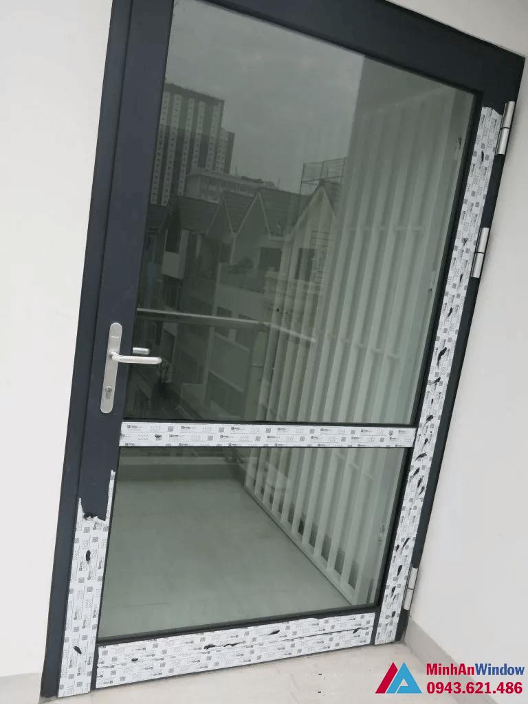 Cửa nhôm kính 1 cánh PMI cao cấp chất lượng
