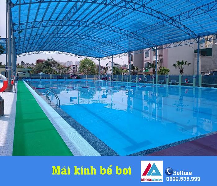 4 Mẫu Mái Kính Bể Bơi Giá Rẻ Thịnh Hành Nhất 1