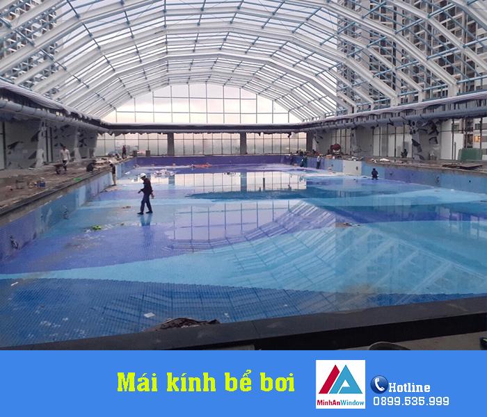 4 Mẫu Mái Kính Bể Bơi Giá Rẻ Thịnh Hành Nhất 2