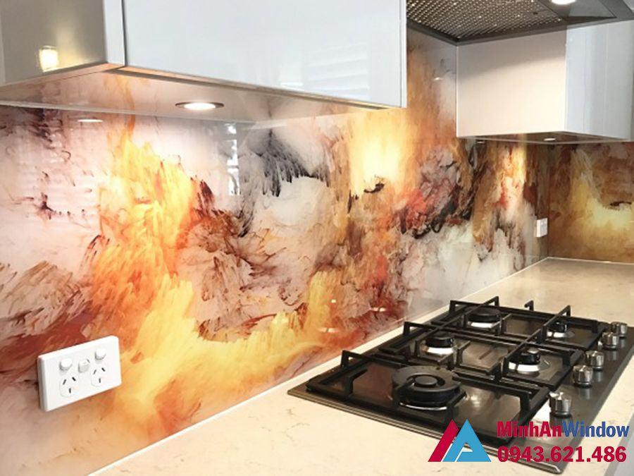 Tranh vân đá cao cấp chất lượng cho nhà bếp sang trọng