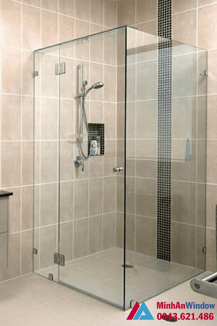 Phòng tắm kính vuông cao cấp chất lượng