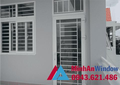 Cửa sắt, cửa sổ khung sắt cho các trung cư cao cấp chất lượng
