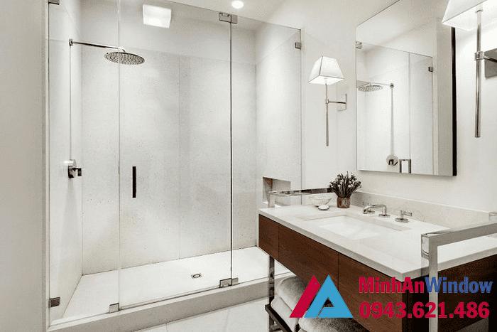 Lắp đặt Phòng Tắm Kính Vách Tắm Kính Giá Rẻ 25