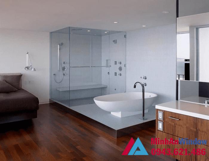 Lắp đặt Phòng Tắm Kính Vách Tắm Kính Giá Rẻ 32