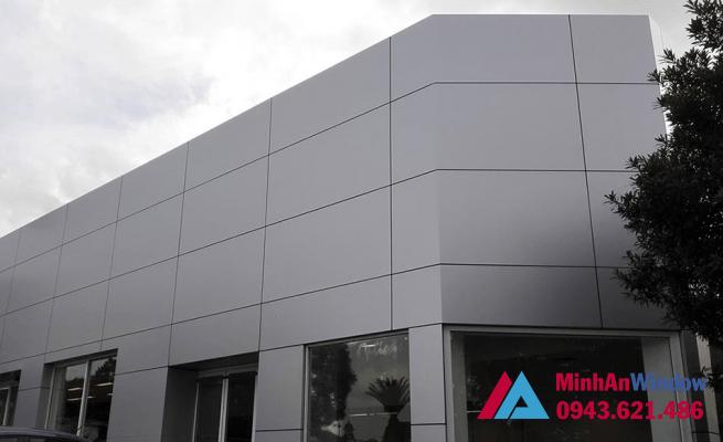 Tấm nhôm Aluminium được sử dụng nhiều cho các mặt tiền tòa nhà lớn