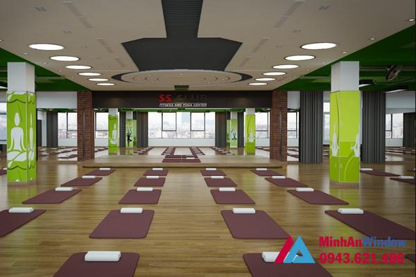 Gương Soi Phòng Tập Yoga