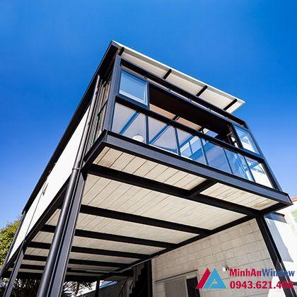 Mẫu nhà kính khung thép cao cấp cho các công trình