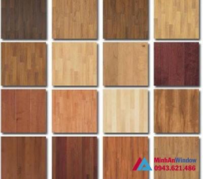 Bảng màu và mẫu mã tấm Alu vân gỗ cao cấp chất lượng