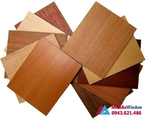 Mẫu tấm Alu vân gỗ sang trọng cho các công trình