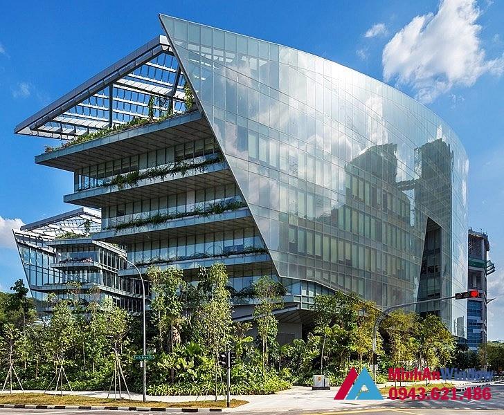 Kính tiết kiệm năng lượng cao cấp cho các tòa nhà.