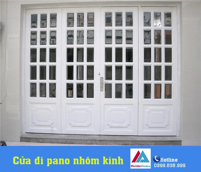 Cửa đi pano hiện đại do Minh An Window lắp đặt - Minh An Window đã thi công