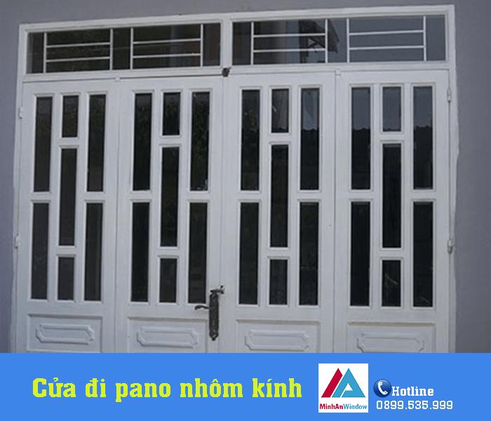 Minh An Window thiết kế và lắp đặt cửa đi pano nhôm kính hiện đại - Minh An Window đã thi công