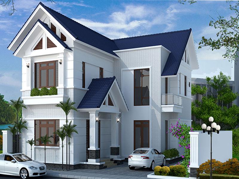Những mẫu nhà 2 tầng 4 phòng ngủ đơn giản giá rẻ đẹp nhất 2021 2
