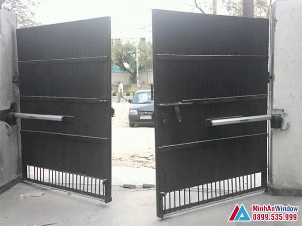 Cổng tự động FAAC cao cấp chất lượng - Minh An Window đã thi công