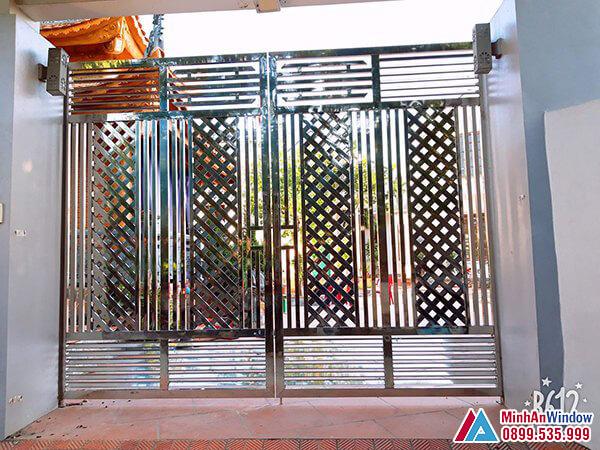 Cửa cổng inox tại Bắc Giang