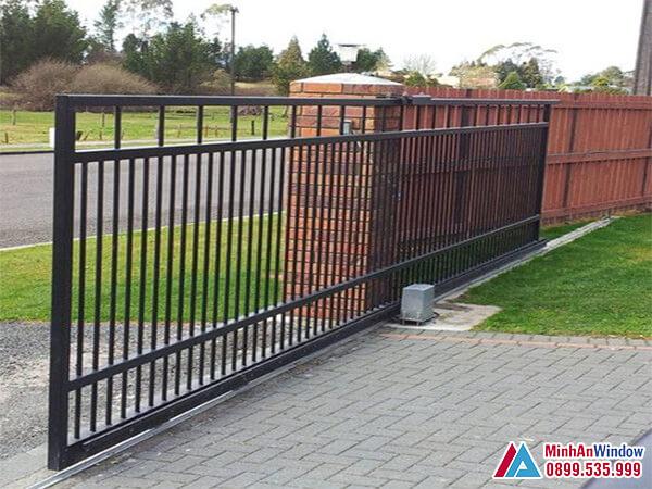 Cửa cổng tự động trượt cao cấp chất lượng số 1 Việt Nam - Minh An Window đã thi công