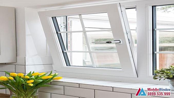 Cửa sổ cửa kính cường lực khung nhôm - Minh An Window đã thi công