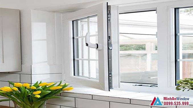 Cửa sổ kính cường lực khung nhôm cao cấp - Minh An Window đã thi công