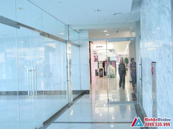 Cửa kính thủy lực tại Hà Nội cao cấp chất Lượng - Minh An Window đã thi công