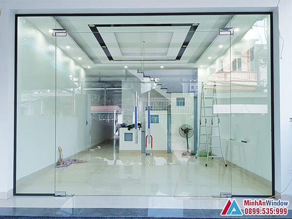 Cửa kính thủy lực tại Bắc Kạn cao cấp chất lượng - Minh An Window đã thi công