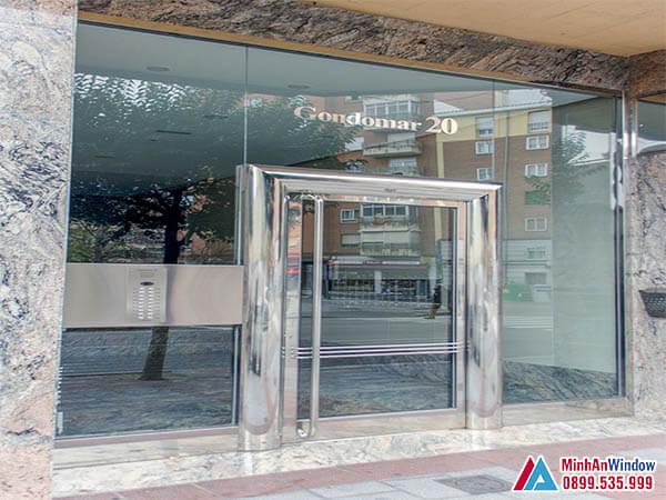 Cửa kính khung inox tại Thanh Xuân