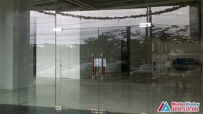 Cửa Kính Thủy Lực Phổ Biến Năm 2021 - Minh An Window Đã Thi Công
